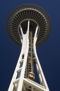 Space Needle in Seattle, WA