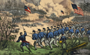 The Battle of Cedar Mountain, Virginia, August 9, 1862 - Currier and Ives, 1862