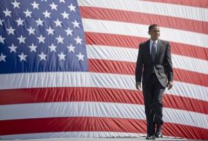 MAP - campaign Obama