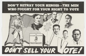 1953 Election Poster