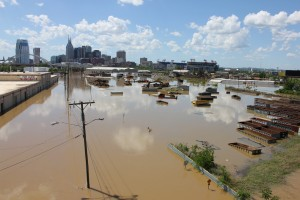 Results of the flooding in Nashville, Tennessee in 2008
