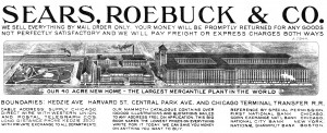 The Sears, Roebuck catalog from 1907