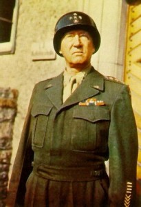 General George Patton, 1945
