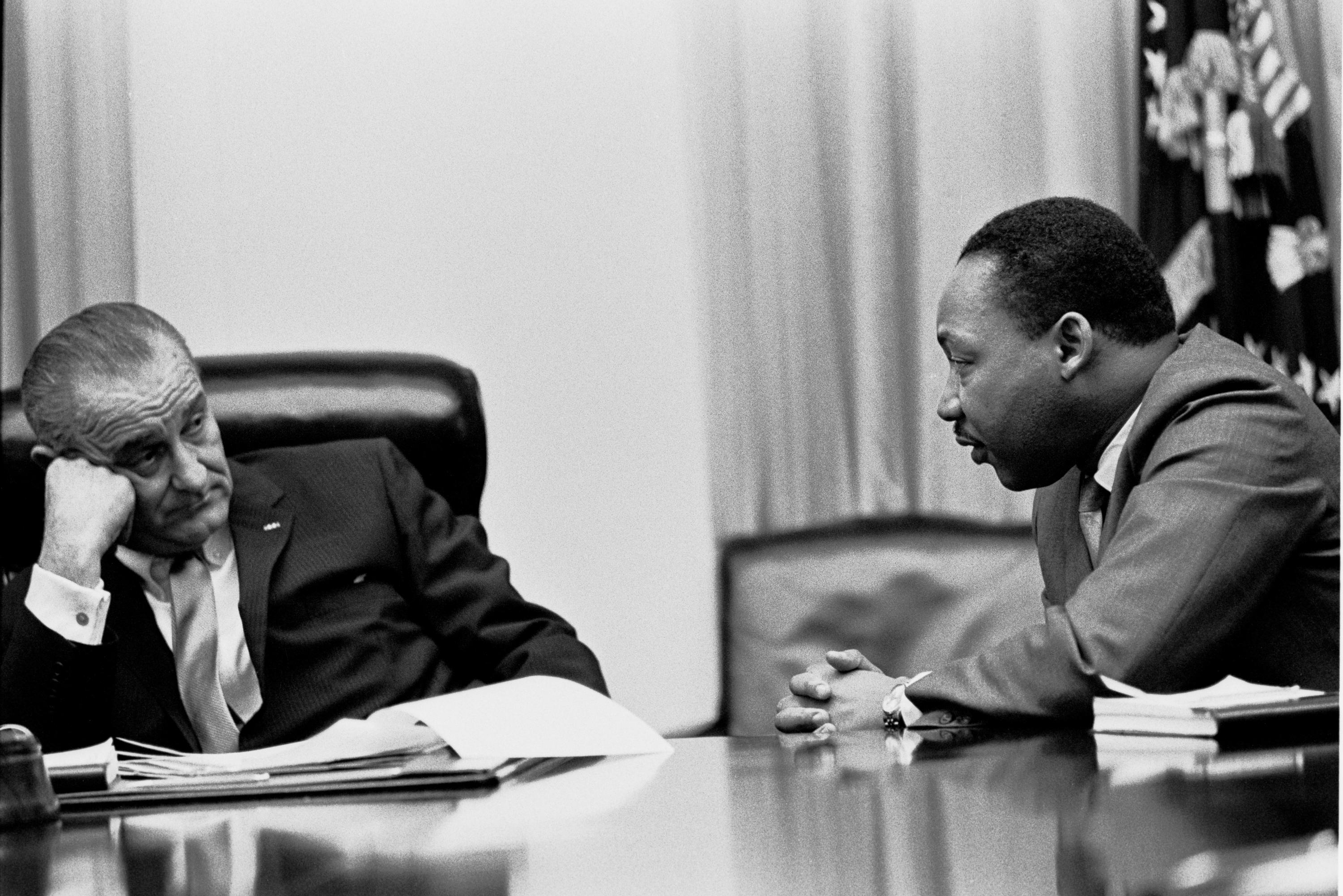 martin luther king metaphors in american politics blog mlk ballot mlk and lyndon johnson 2