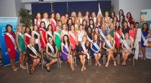 The 2015 Miss America contestants