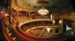 The Baden Baden Theater in Germany