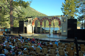 "A staging of ""Twelfth Night"" at the Lake Tahoe Shakespeare Festival"