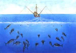 blog - fishing - Trolling_drawing