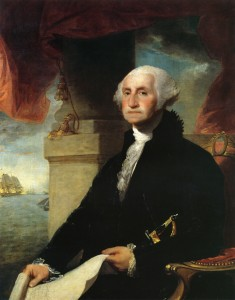 George Washington - portrait by Gilbert Stuart, 1797