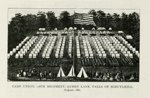 Camp Union in Pennsylvania during the Civil War