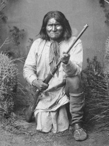 Geronimo, the Apache chief, 1887