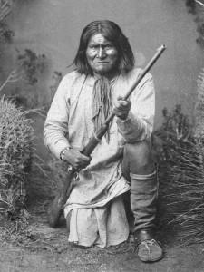 Geronimo, the Apache chief, 1887