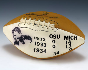 Ohio State University beat the University of Michigan 34 to 0 in 1934.