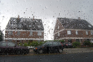 blog - containers - outside rain